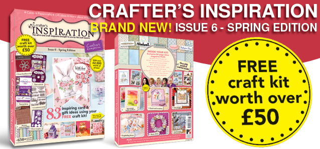 Crafter's Inspiration 6 on sale