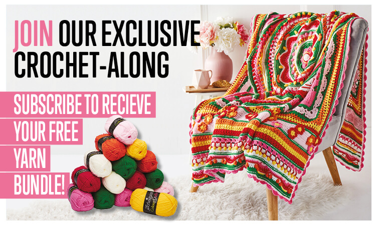 crochet now free yarn crochet along subscription CAL