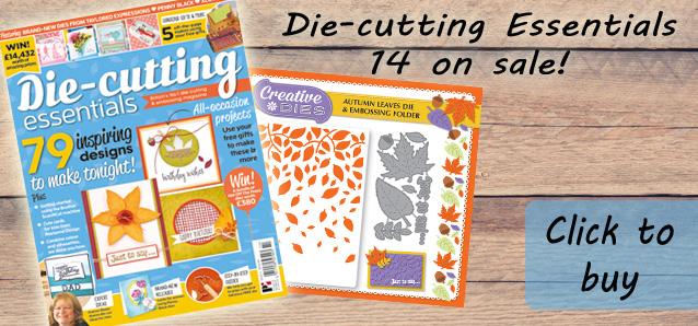 Die-cutting Essentials 14 now on sale!