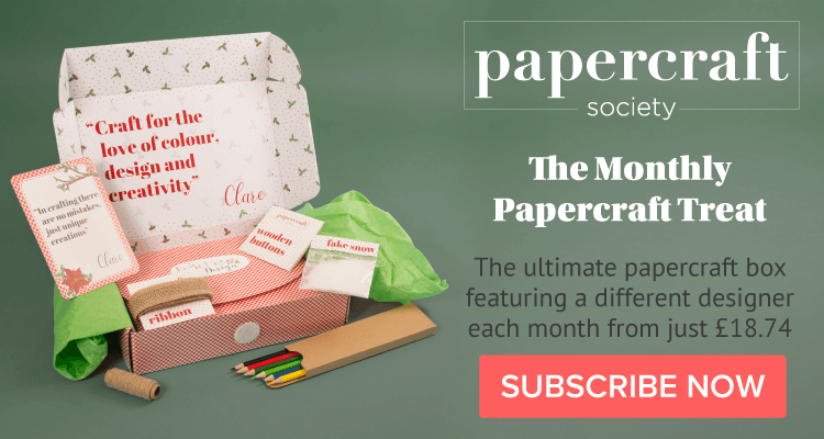 papercraft society box kit Simply Made Crafts subscription