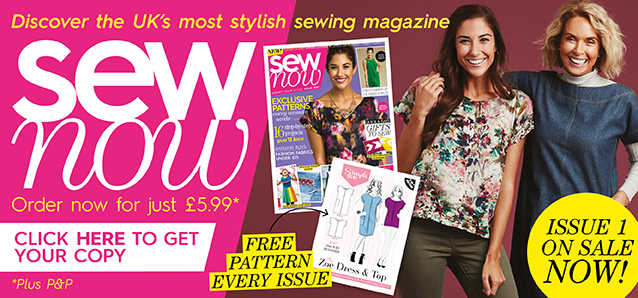 sew now issue one 1