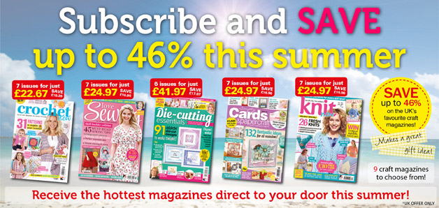 Craft magazine subscriptions sale