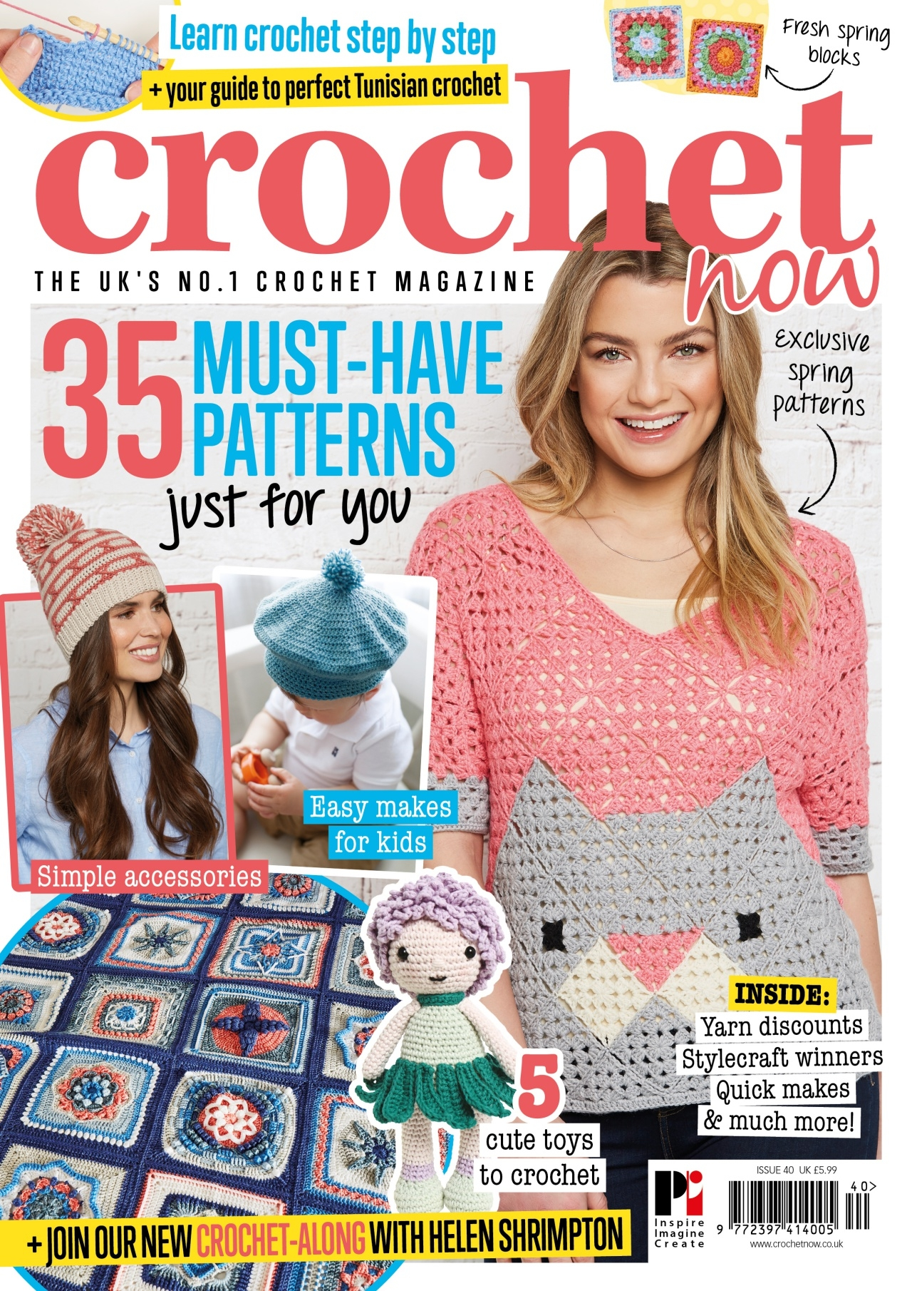 Crochet Now issue 40
