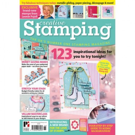 Creative Stamping 36 - on sale now!