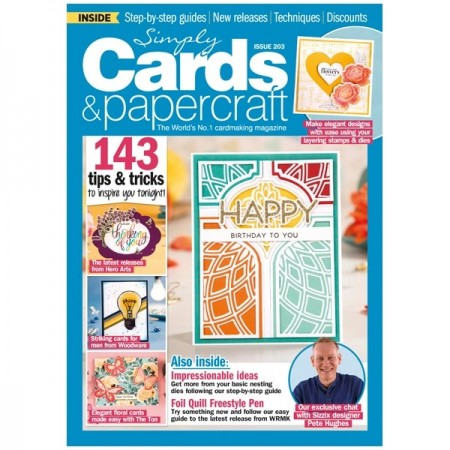 Simply Cards & Papercraft Magazine Issue 203