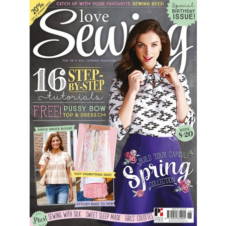 Love Sewing 26 on sale now