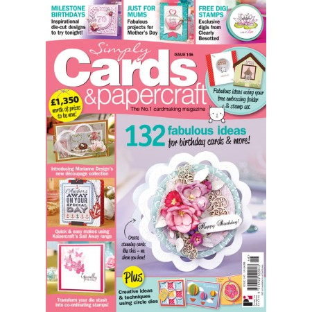 Simply Cards & Papercraft 146