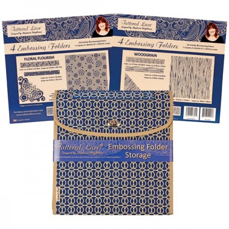 Tattered Lace Embossing folders & storage - DCE12