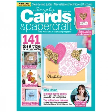 Simply Cards & Papercraft Magazine Issue 201
