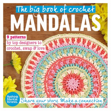 Crochet Now issue 5 on sale now with FREE Big Mandala Swap book