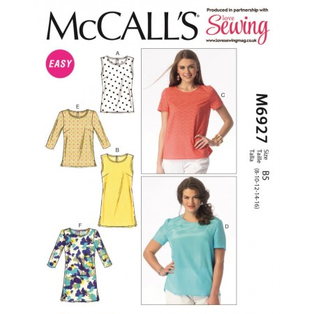 Love Sewing 36 comes with a free McCall's dressmaking pattern!
