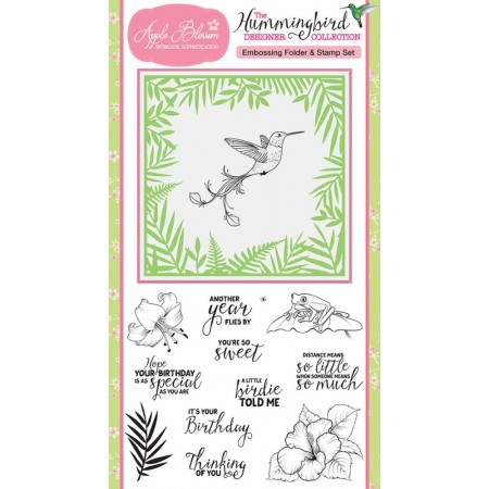 Simply Cards & Papercraft issue 153 now on sale with stunning Hummingbird stamp set & embossing folder!