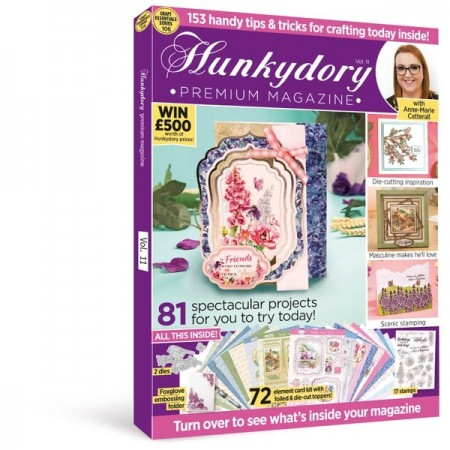 Hunkydory Cardmaking Collection Magazine & Kit issue 11