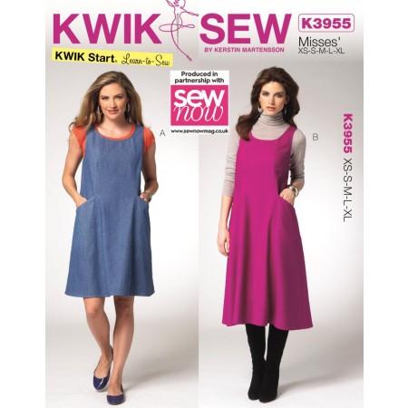 Sew Now – Issue 7 Includes Free KWIK SEW 2-in-1 dress pattern