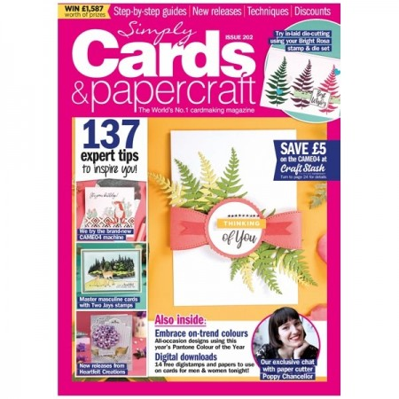 Simply Cards & Papercraft Magazine Issue 202