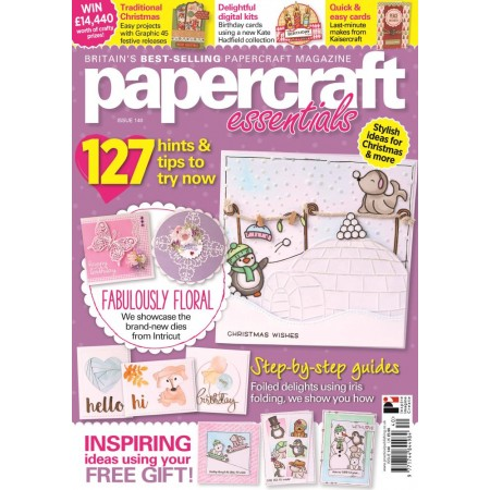 Papercraft Essentials 140 - now on sale!