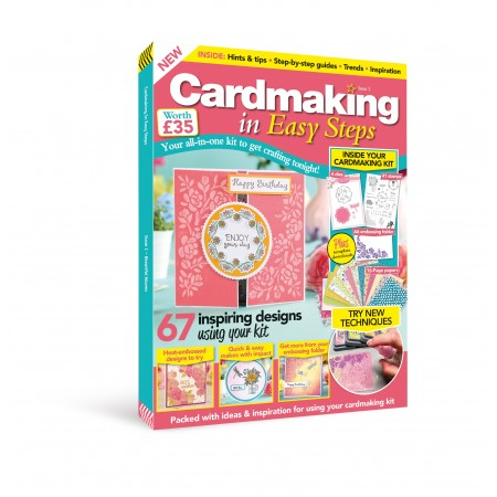 Cardmaking in Easy Steps UK issue 1