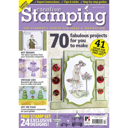Creative Stamping 17 PLUS FREE The Rose Garden Stamp Collection
