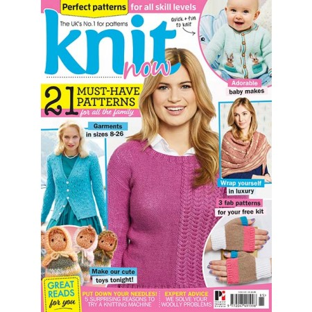 Knit Now issue 85
