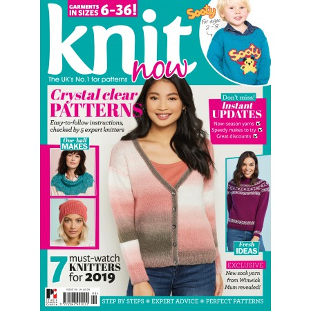 d30168a5e296 Knit Now issue 99 - MoreMags