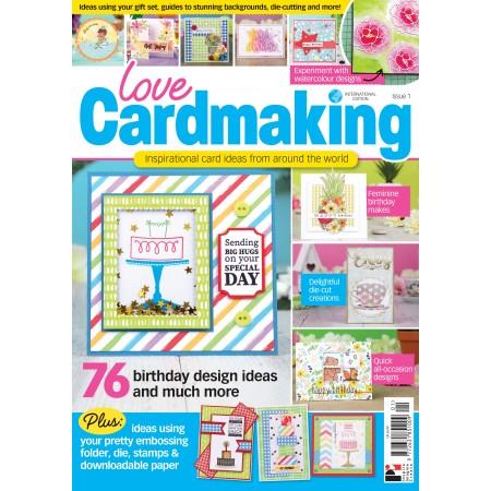 Love Cardmaking International Issue 01