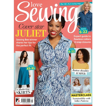 3 issues of Love Sewing for £12!