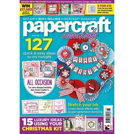 3 issues of Papercraft Essentials for £6!