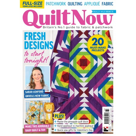 Quilt Now issue 72
