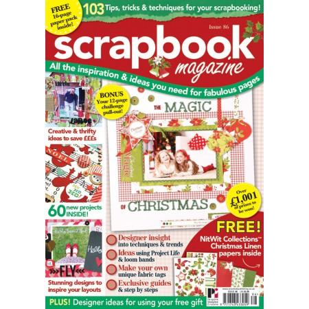 Scrapbook Magazine 86