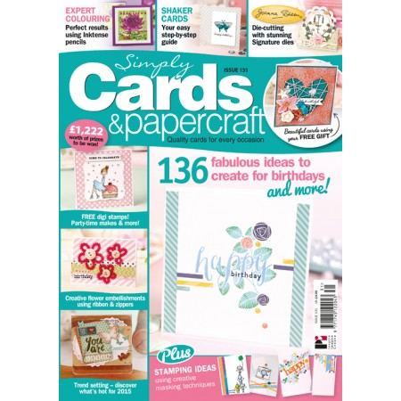 Simply Cards & Papercraft 131