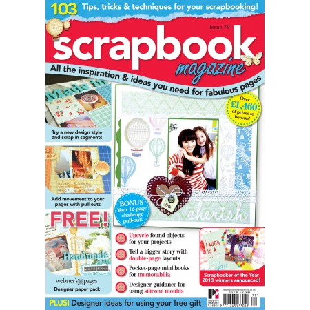 Scrapbook Magazine 79 with FREE Websters Pages paper pack
