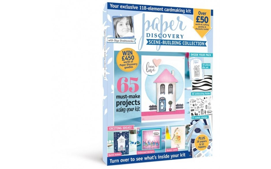 Paper Discovery Magazine and Kit #01