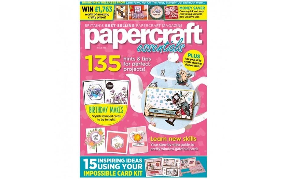 Papercraft Essentials Magazine issue 186