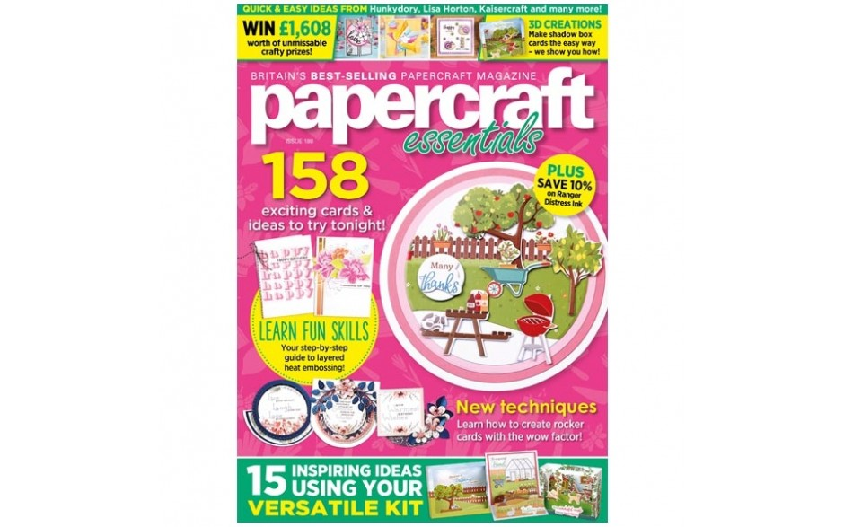 Papercraft Essentials Magazine issue 188