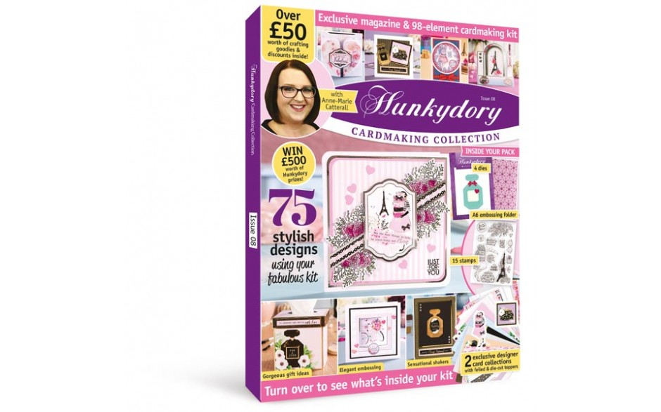 Hunkydory Cardmaking Collection Magazine & Kit #08