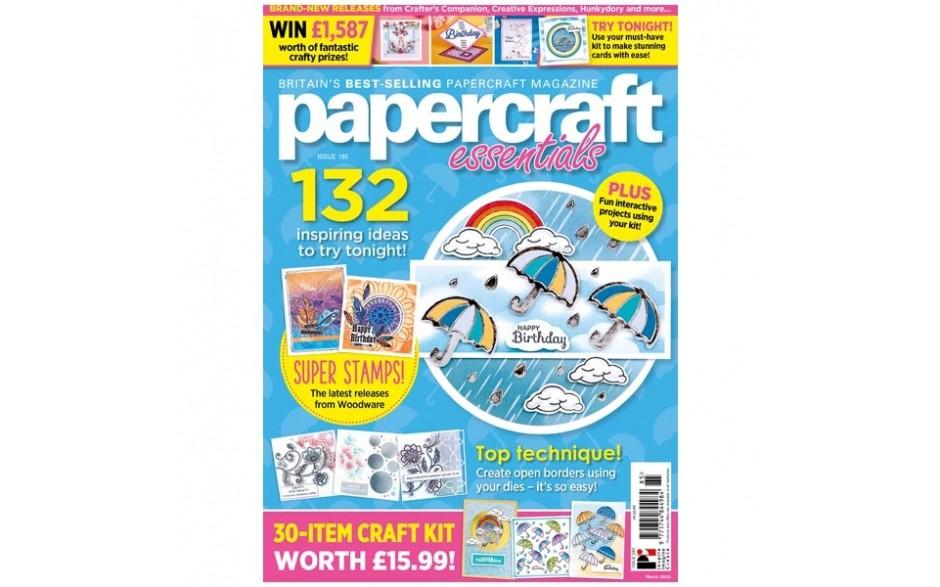 Papercrafts Essential Magazine Issue 185