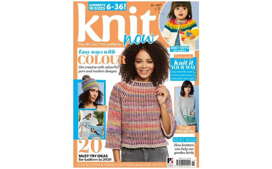 Knit Now Magazine Issue 111