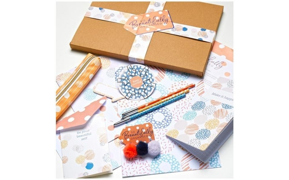 So Beautifully Organised Stationery Box 2 - Spotty