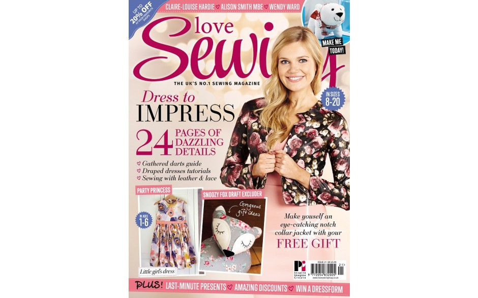 Love Sewing issue 21