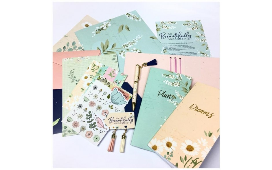 So Beautifully Organised Stationery Box - Floral