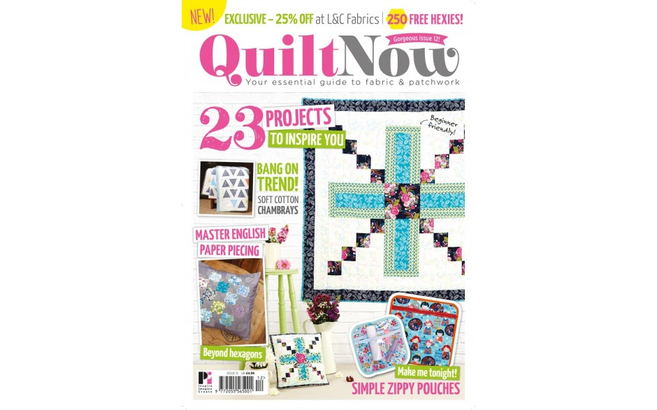 Quilt Now 12 on sale now