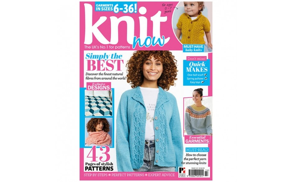 Knit Now Magazine Issue 114