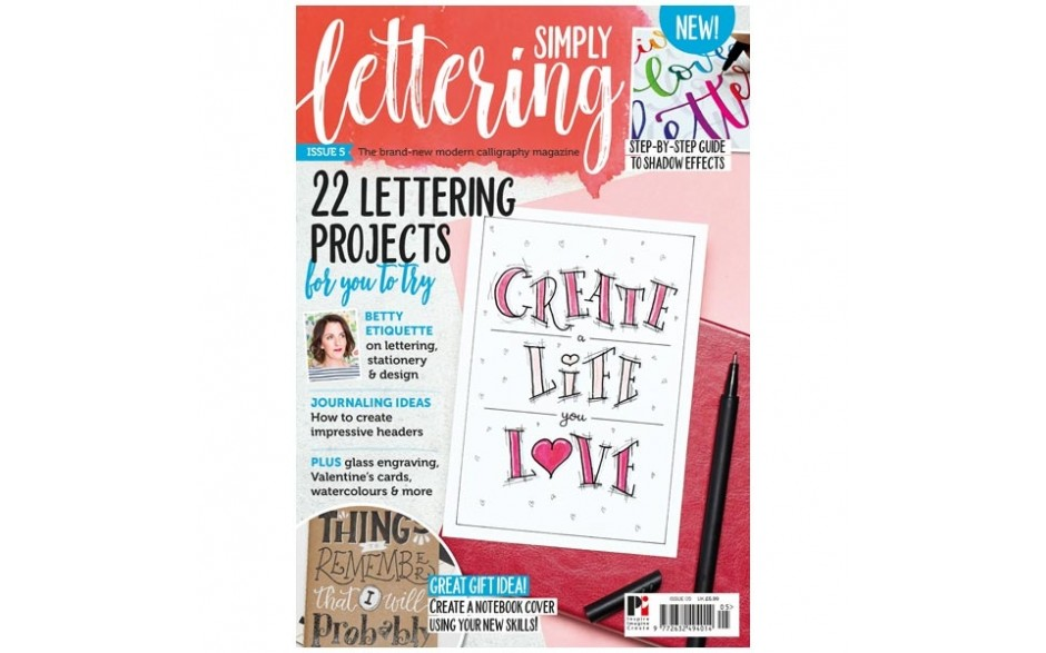 Simply Lettering Magazine Issue 05
