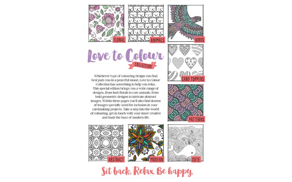 Love to Colour Collection - front cover