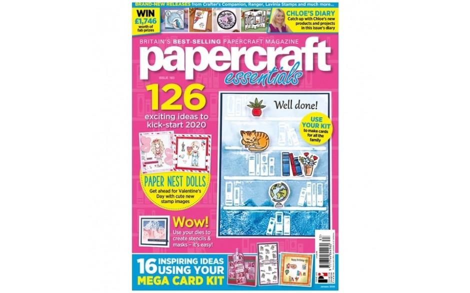 Papercraft Essentials Magazine #183