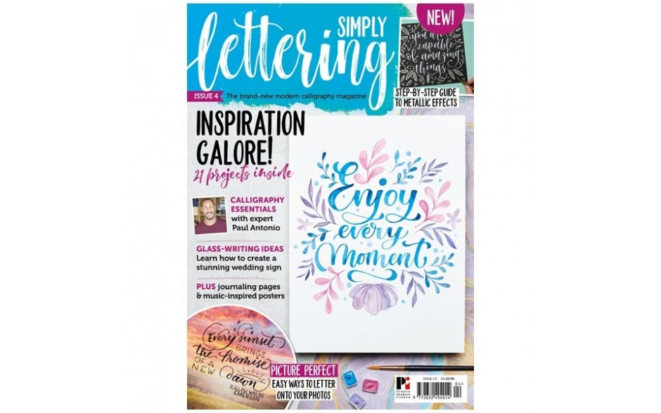 Simply Lettering Magazine #04