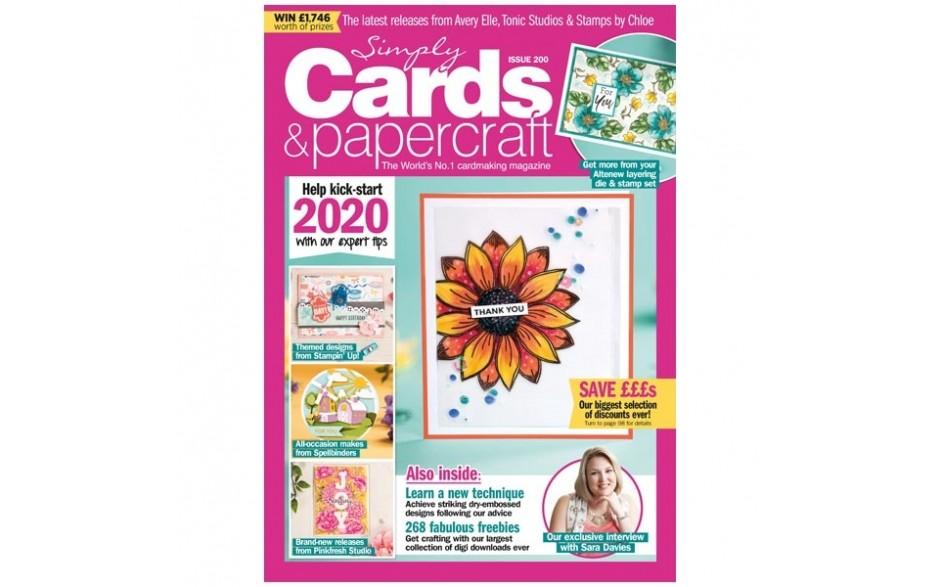 Simply Cards & Papercraft Magazine #200