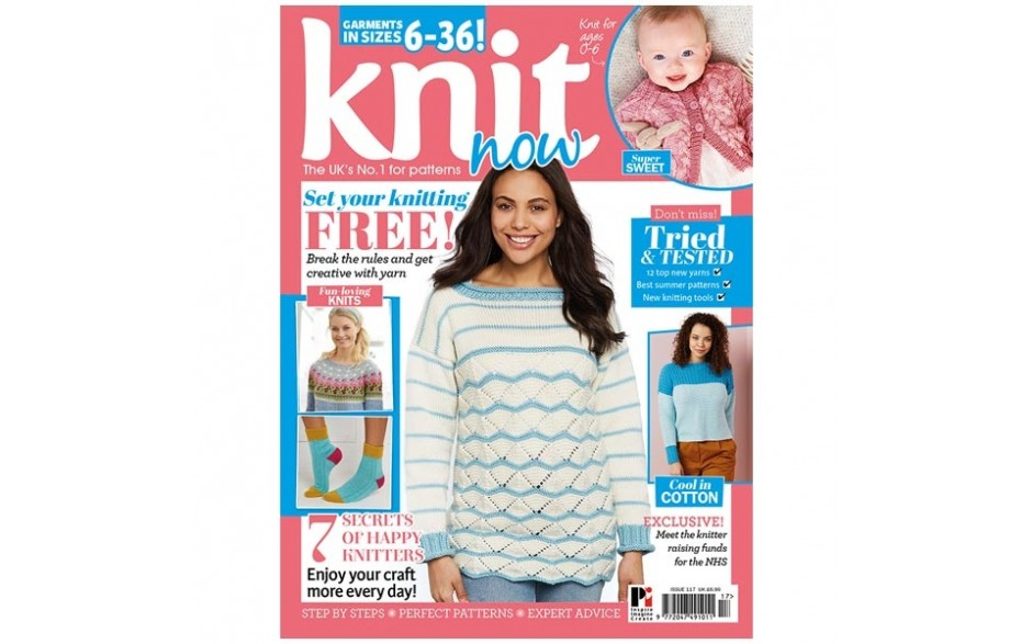 Knit Now Magazine Issue 117