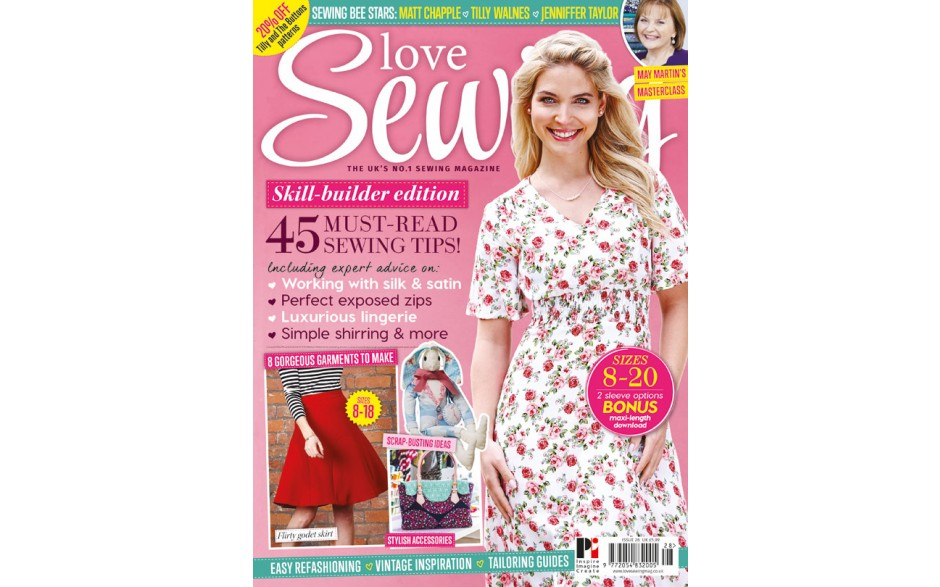 Love Sewing 28 on sale now