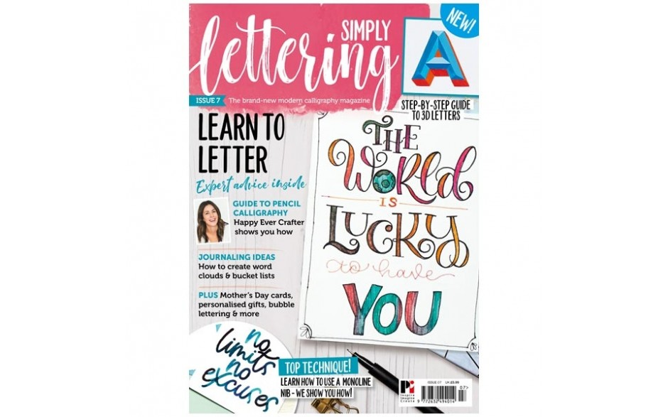 Simply Lettering Magazine Issue 07